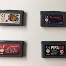 Videojuegos y Consolas: LOTE JUEGOS GAMEBOY ADVANCE, NINTENDO. Lote 136104368