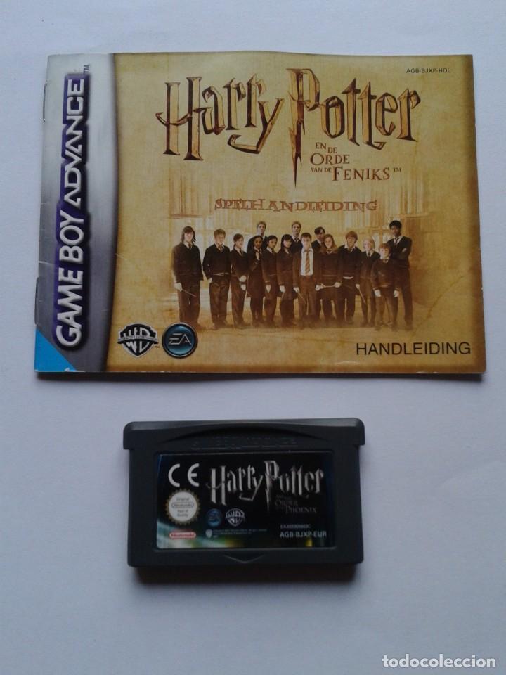 Juego Game Boy Advance Gba Harry Potter Order P Comprar