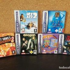 Videojuegos y Consolas: LOTE JUEGOS COMPLETOS Y EN CAJA GAME BOY ADVANCE. Lote 136370114