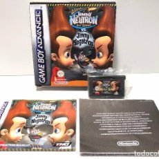 Videojuegos y Consolas: THE ADVENTURES OF JIMMY NEUTRON VS JIMMY NEGATRON NINTENDO GAME BOY ADVANCE. Lote 137498858