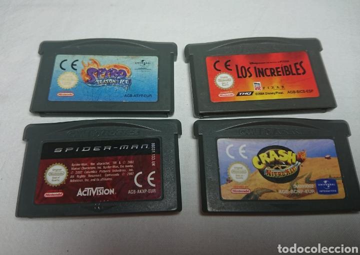 Lote 4 Juegos Gameboy Advance Game Boy Spyro Comprar