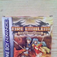 Videojuegos y Consolas: FIRE EMBLEM - THE SACRED STONES - GAME BOY ADVANCE - COMPLETO. Lote 140318318