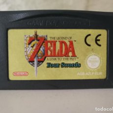 Videojuegos y Consolas: ZELDA FOUR SWORDS GAME BOY ADVANCE. Lote 140567870