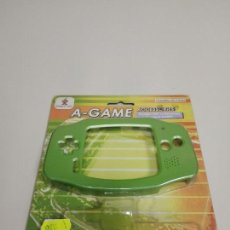 Videojuegos y Consolas: 1118- ACCESORIOS COMPATIBLE CON GAME BOY ADVANCE CARCASA VERDE GC 901 NEW OLD STOCK . Lote 140714390