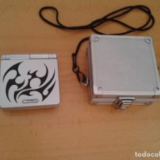 Videojuegos y Consolas: CONSOLA NINTENDO GAME BOY ADVANCE SP TRIBAL EDITION+FUNDA GBA COMO NUEVA VER R8236. Lote 144081034