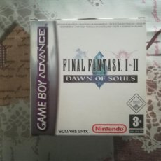 Videojuegos y Consolas: FINAL FANTASY I & II DAWN OF SOULS GAME BOY ADVANCE. Lote 141332046