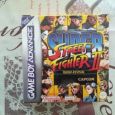 Videojuegos y Consolas: SUPER STREET FIGHTER II TURBO REVIVAL GAME BOY ADVANCE. Lote 142067238