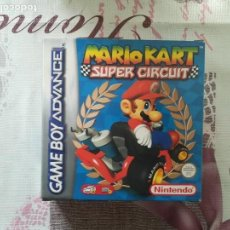 Videojuegos y Consolas: MARIO KART SUPER CIRCUIT GAME BOY ADVANCE. Lote 142075810