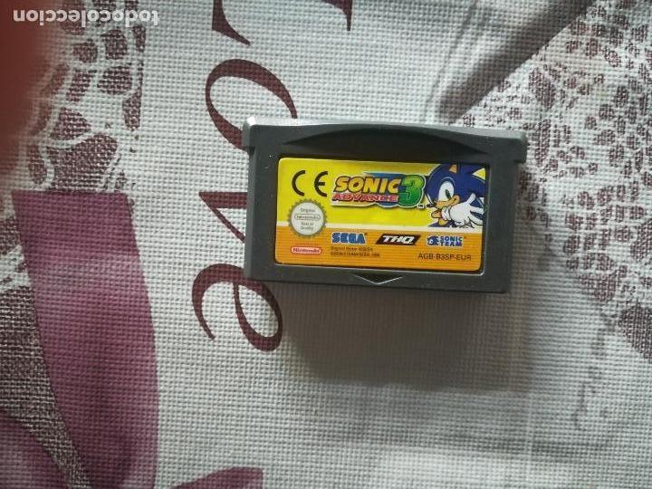 SONIC 3 ADVANCE GAME BOY ADVANCE (Juguetes - Videojuegos y Consolas - Nintendo - GameBoy Advance)