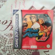 Videojuegos y Consolas: FINAL FIGHT ONE ADVANCE GAME BOY ADVANCE NUEVO PRECINTADO. Lote 153925298
