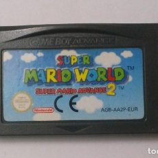 Videojogos e Consolas: SUPER MARIO WORLD SUPER MARIO ADVANCE 2 - NINTENDO GAME BOY ADVANCE. Lote 143073074