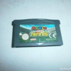Videojuegos y Consolas: MARIO POWER TENNIS NINTENDO GAMEBOY ADVANCE PAL ESPAÑA SOLO CARTUCHO. Lote 143685110