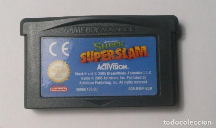 SHREK SUPERSLAM - NINTENDO GAME BOY ADVANCE (Juguetes - Videojuegos y Consolas - Nintendo - GameBoy Advance)