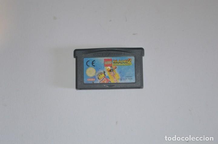 JUEGO NINTENDO GAME BOY ADVANCE GBA LEGO ISLAND 2 THE BRICKSTER'S REVENGE 2001 ACCIÓN AVENTURA (Juguetes - Videojuegos y Consolas - Nintendo - GameBoy Advance)
