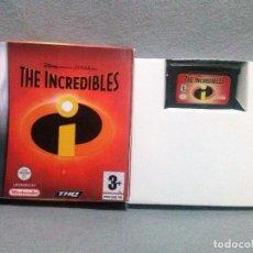 Videojuegos y Consolas: JUEGO *THE INCREDIBLES - LOS INCREIBLES* ... GAME BOY ADVANCE - EN BUEN ESTADO.. Lote 144804230