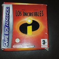 Videojuegos y Consolas: JUEGO COMPLETO GAME BOY ADVANCE LOS INCREIBLES. Lote 145703412