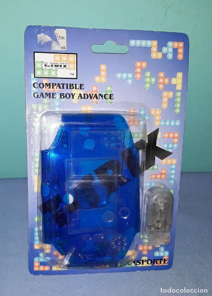 BOLSA TRANSPORTE COMPATIBLE CONSOLA GAME BOY ADVANCE ORIGINAL A ESTRENAR VER FOTOS Y DESCRIPCION (Juguetes - Videojuegos y Consolas - Nintendo - GameBoy Advance)