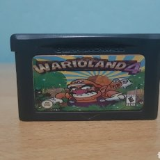 Videojuegos y Consolas: WARIO LAND 4 GAMEBOY ADVANCE ORIGINAL. Lote 147713989