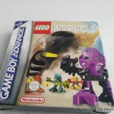 Videojuegos y Consolas: ANTIGUO JUEGO PARA GAME BOY ADVANCE SP LEGO BIONICLE. Lote 147863146