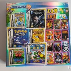 Videojuegos y Consolas: CARTUCHO GAMEBOY ADVANCE 118 EN 1 - NES Y GBA GAMES. SIN REPETIR NO REPEAT. Lote 147925694