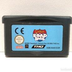 Videojuegos y Consolas: THE SIMPSONS ROAD RAGE NINTENDO GAME BOY ADVANCE. Lote 148211810