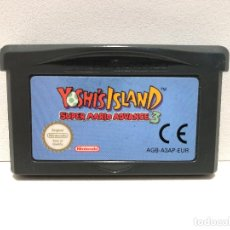 Videojuegos y Consolas: YOSHI'S ISLAND SUPER MARIO ADVANCE 3 NINTENDO GAME BOY ADVANCE. Lote 148212966