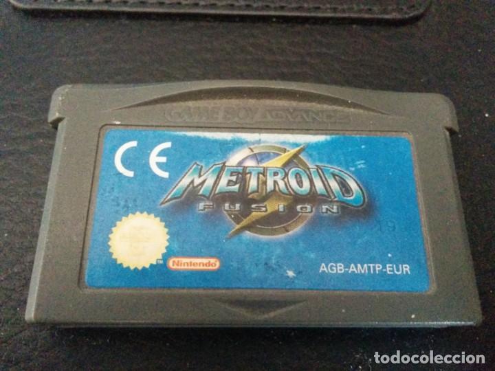 Videojuegos y Consolas: Metroid Fusion y Metroid zero PAL ESP GAME BOY GAMEBOY ADVANCE - Foto 2 - 149572398