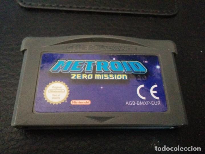 Videojuegos y Consolas: Metroid Fusion y Metroid zero PAL ESP GAME BOY GAMEBOY ADVANCE - Foto 3 - 149572398