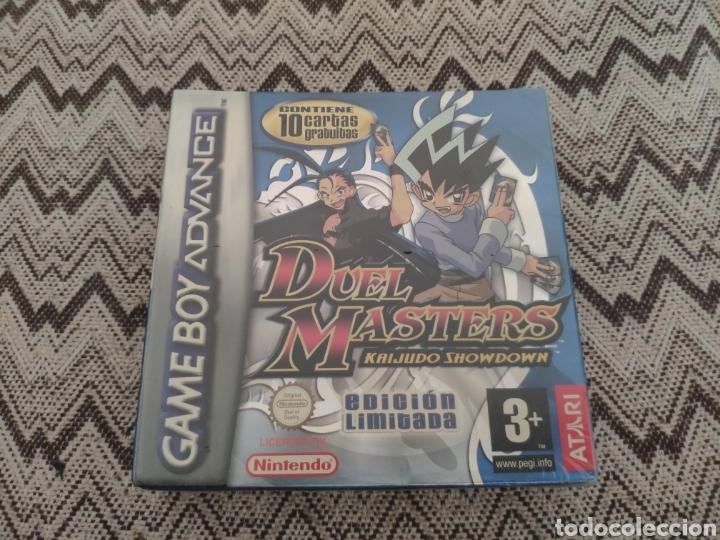 JUEGO GAMEBOY EDICION LIMITADA DUEL MASTERS KAIJUDO SHOWDOWN NUEVO SIN DESPRECINTAR (Juguetes - Videojuegos y Consolas - Nintendo - GameBoy Advance)