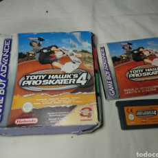 Videojuegos y Consolas: TONY HAWK'S PRO SKATER 4 - GAMEBOY GAME BOY ADVANCE - COMPLETO, CAJA DETERIORADA. Lote 150011929