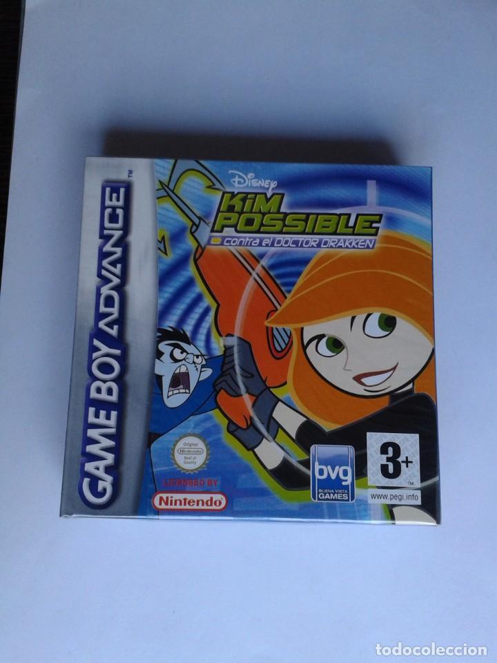 GAME BOY ADVANCE KIM POSSIBLE CONTRA DOCTOR DRAKKEN NUEVO PRECINTADO PAL ESPAÑA R8359 (Juguetes - Videojuegos y Consolas - Nintendo - GameBoy Advance)