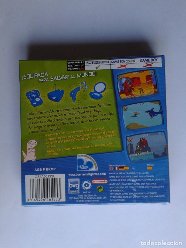 Videojuegos y Consolas: GAME BOY ADVANCE KIM POSSIBLE CONTRA DOCTOR DRAKKEN NUEVO PRECINTADO PAL ESPAÑA R8359 - Foto 2 - 150017946