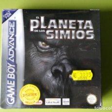 Videojuegos y Consolas: EL PLANETA DE LOS SIMIOS GAMEBOY ADVANCE PRECINTADO. Lote 150528874