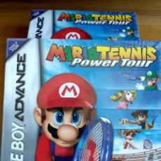 Videojuegos y Consolas: NINTENDO GAMEBOY ADVANCE MARIO POWER TENNIS NUEVO Y PRECINTADO. Lote 150536390