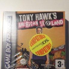 Videojuegos y Consolas: TONY HAWKS AMERICAN SK8LAND GAME BOY ADVANCE, PRECINTADO. Lote 150763106
