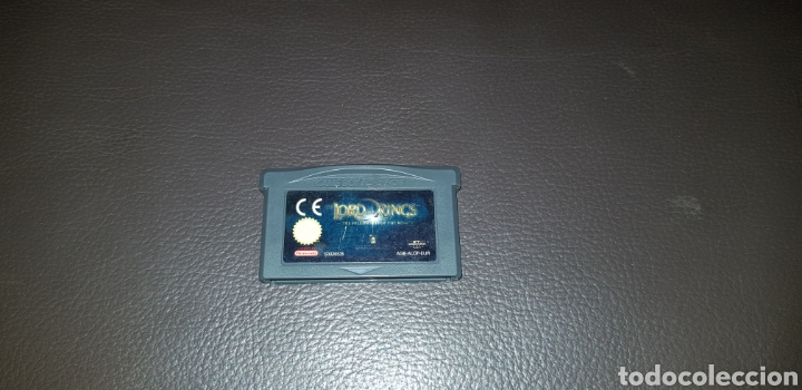 JUEGO NINTENDO GAMEBOY ADVANCE LORD OF THE RINGS THE FELLOWS SHIP OF THE RINGS (Juguetes - Videojuegos y Consolas - Nintendo - GameBoy Advance)