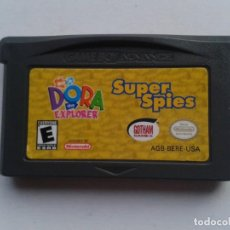 Videojuegos y Consolas: JUEGO GAME BOY ADVANCE DORA THE EXPLORER SUPER SPIES SOLO CARTUCHO PAL GBA R8517. Lote 151612566