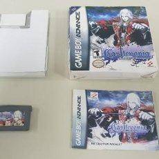 Videojuegos y Consolas: J- CASTLEVANIA HARMONY OF DISSONACE GAME BOY ADVANCE VERSION USA DIFICIL!!!!!!. Lote 152281502