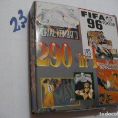Videojuegos y Consolas: ANTIGUO JUEGO PARA GAMEBOY 290 JUEGOS EN UN CARTUCHO NUEVO SIN USAR EN SU CAJA. Lote 152680302