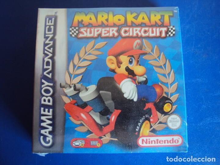 (JU-190209)MARIO KART - SUPER CIRCUIT - GAME BOY ADVANCE NUEVO PRECINTADO (Juguetes - Videojuegos y Consolas - Nintendo - GameBoy Advance)