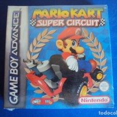 Videojuegos y Consolas: (JU-190209)MARIO KART - SUPER CIRCUIT - GAME BOY ADVANCE NUEVO PRECINTADO. Lote 175503523