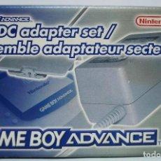 Videojuegos y Consolas: AC-DC ADAPTER SET NINTENDO GAME BOY ADVANCE ¡¡NUEVO Y SIN ABRIR!!. Lote 154180846