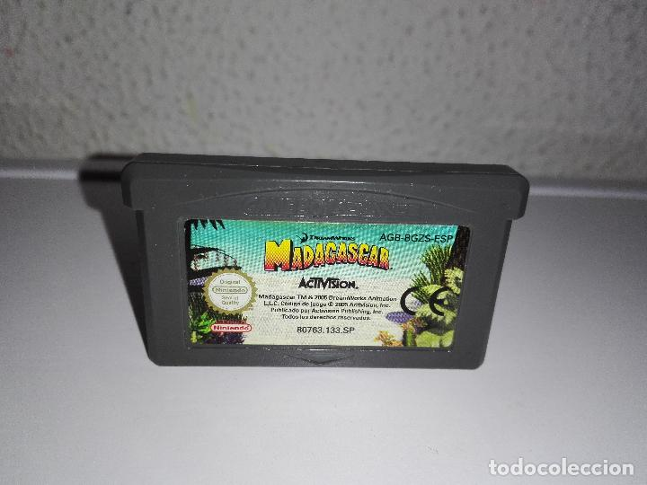 JUEGO NINTENDO GBA GAMEBOY ADVANCE MADAGASCAR GAME BOY (Juguetes - Videojuegos y Consolas - Nintendo - GameBoy Advance)