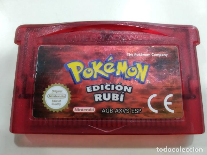 JUEGO PARA NINTENDO GAME BOY ADVANCE POKEMON RUBI (Juguetes - Videojuegos y Consolas - Nintendo - GameBoy Advance)