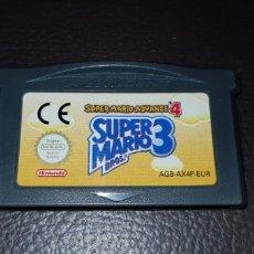 Videojuegos y Consolas: JUEGO SUPER MARIO 3 NINTENDO GAMEBOY ADVANCE GAME BOY RETROVINTAGEJUGUETES BBB. Lote 155505746