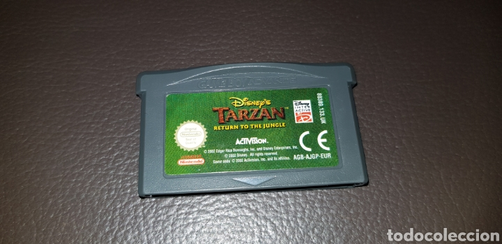 JUEGO DISNEY'S TARZAN RETURN TO THE JINGLE NINTENDO GAMEBOY ADVANCE RETROVINTAGEJUGUETES BBB (Juguetes - Videojuegos y Consolas - Nintendo - GameBoy Advance)