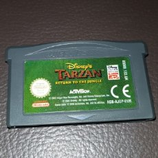 Videojuegos y Consolas: JUEGO DISNEY'S TARZAN RETURN TO THE JINGLE NINTENDO GAMEBOY ADVANCE RETROVINTAGEJUGUETES BBB. Lote 155507366