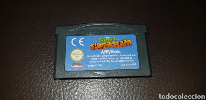 JUEGO SHERK SUPER SLAM NINTENDO GAMEBOY ADVANCE RETROVINTAGEJUGUETES BBB (Juguetes - Videojuegos y Consolas - Nintendo - GameBoy Advance)