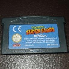 Videojuegos y Consolas: JUEGO SHERK SUPER SLAM NINTENDO GAMEBOY ADVANCE RETROVINTAGEJUGUETES BBB. Lote 155507636