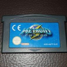 Videojuegos y Consolas: JUEGO METROID FUSION NINTENDO GAMEBOY ADVANCE RETROVINTAGEJUGUETES BBB GAME BOY. Lote 155508414